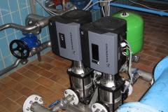 Pumpen-Druckerhöhung